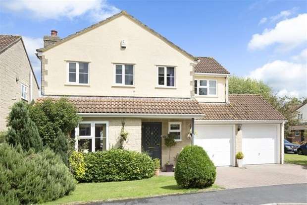 4 Bedrooms Detached House for sale in Churchward Drive, Frome