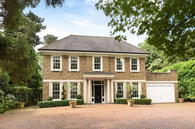 5 Bedrooms Detached House for rent in Weybridge