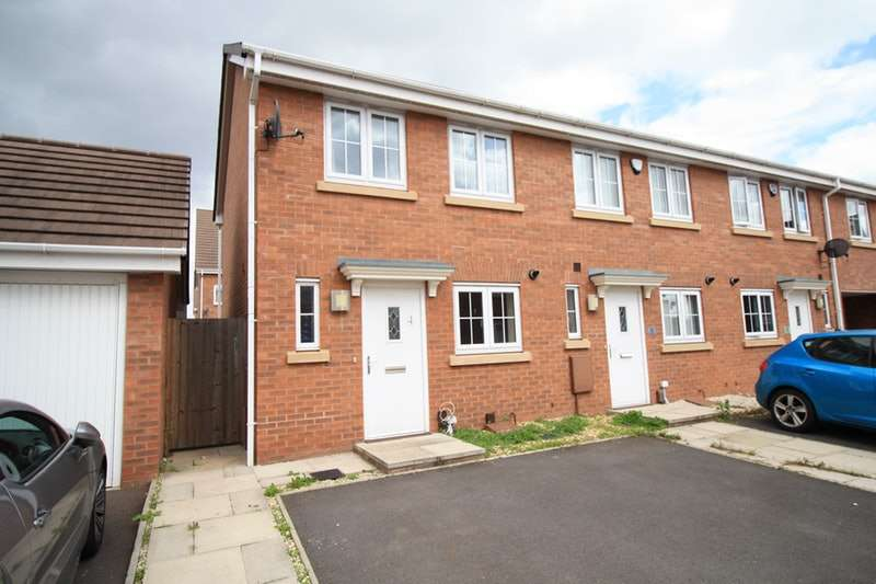 2 Bedrooms End Of Terrace House for sale in Cole Way, Shard End, West Midlands, B34