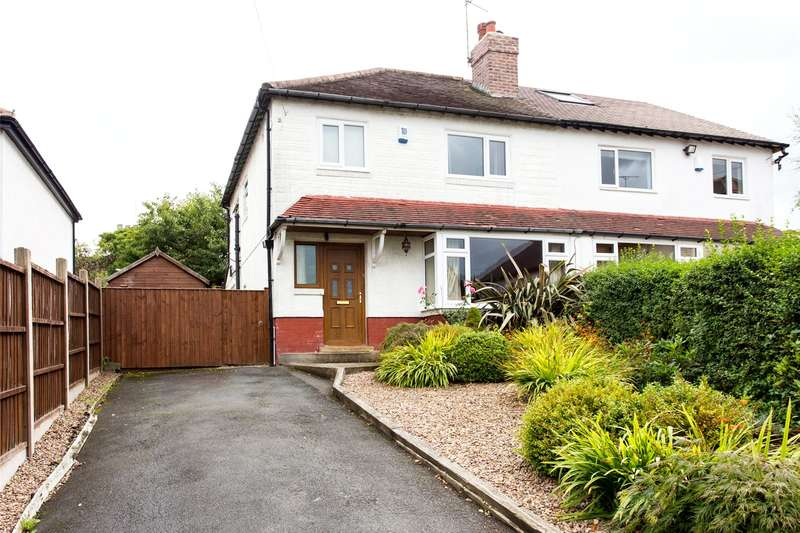 3 Bedrooms Semi Detached House for sale in Wensley View, Leeds, West Yorkshire, LS7