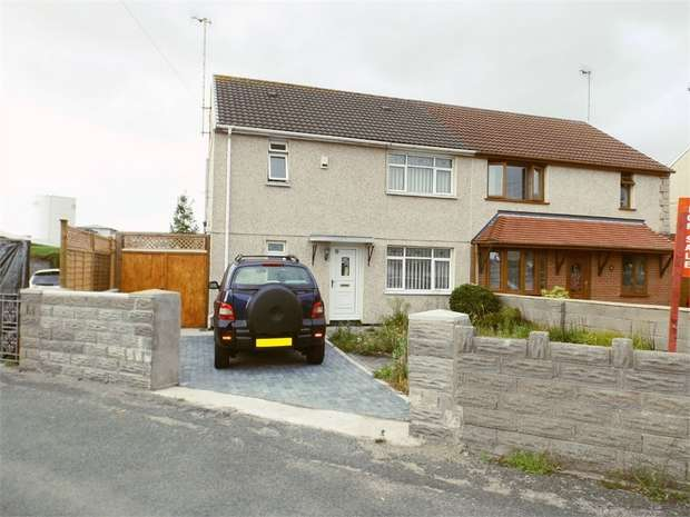 3 Bedrooms Semi Detached House for sale in Brwyna Avenue, Aberavon, Port Talbot, West Glamorgan