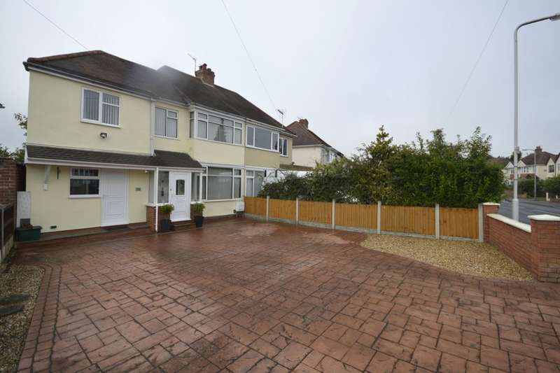 4 Bedrooms Semi Detached House for sale in Blackburn Avenue, Wolverhampton, WV6
