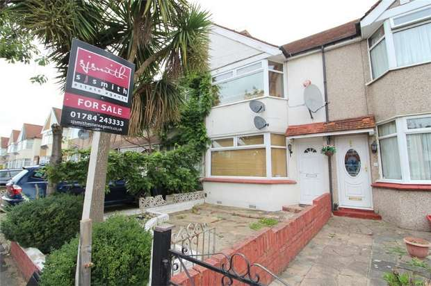 2 Bedrooms Terraced House for sale in Hanover Avenue, Feltham, Middlesex