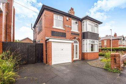 3 Bedrooms Semi Detached House for sale in Lomond Avenue, Blackpool, Lancashire, FY3