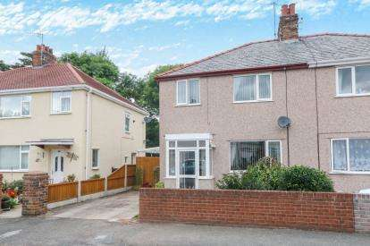 3 Bedrooms Semi Detached House for sale in Bryn Marl Road, Mochdre, Colwyn Bay, Conwy, LL28