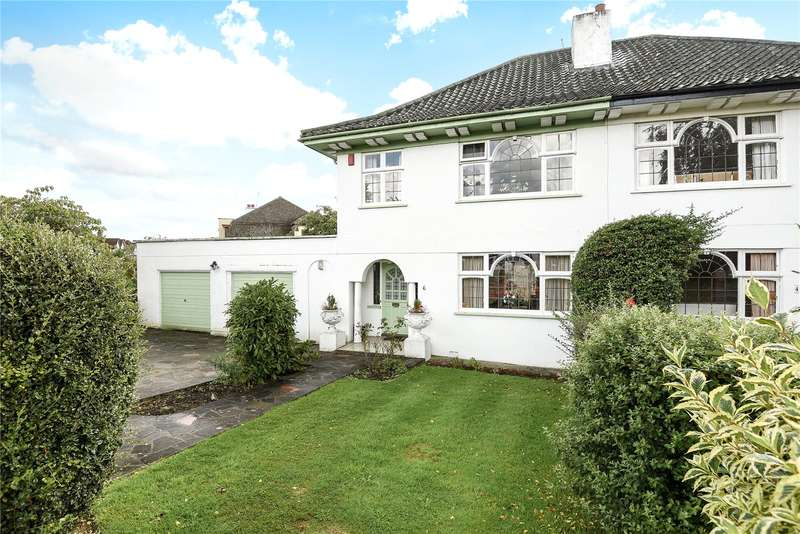 3 Bedrooms Semi Detached House for sale in Furham Feild, Pinner, Middlesex, HA5
