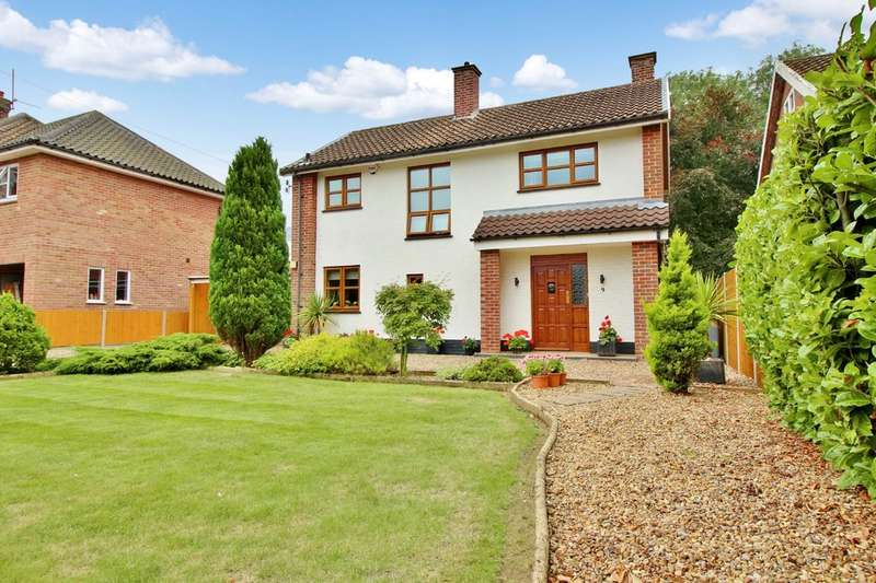 3 Bedrooms Detached House for sale in Westbourne Road, Coltishall, Norwich