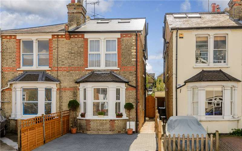 5 Bedrooms Semi Detached House for sale in Kings Road, Kingston upon Thames KT2