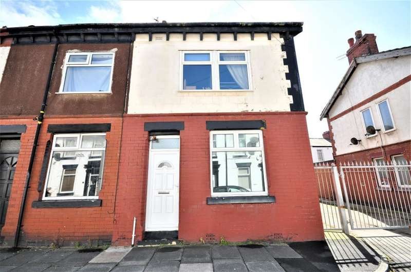 3 Bedrooms End Of Terrace House for sale in Beresford Street, Blackpool, Lancashire, FY1 3RF