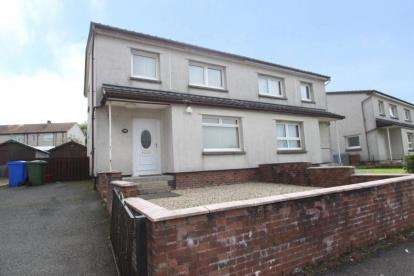 3 Bedrooms Semi Detached House for sale in Dalhanna Drive, New Cumnock, East Ayrshire