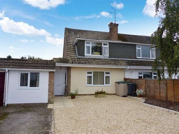 3 Bedrooms Semi Detached House for sale in Prestbury Drive, Warminster