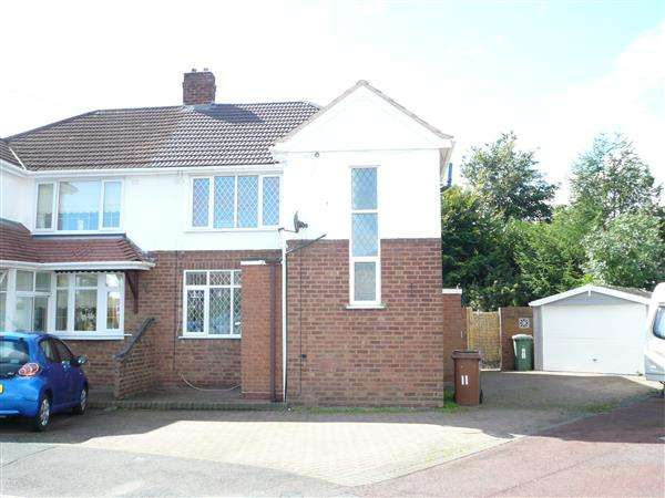 3 Bedrooms Semi Detached House for sale in Himley Close, Willenhall, Willenhall