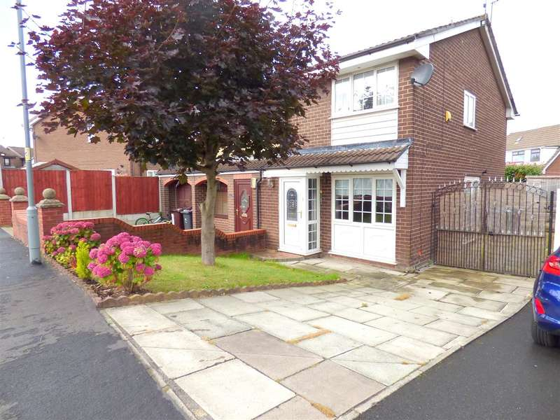 2 Bedrooms Semi Detached House for sale in Ribchester Way, Tarbock Green, Liverpool