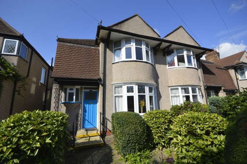 3 Bedrooms Semi Detached House for sale in Runnymede Road, Whitton, Twickenham, TW2