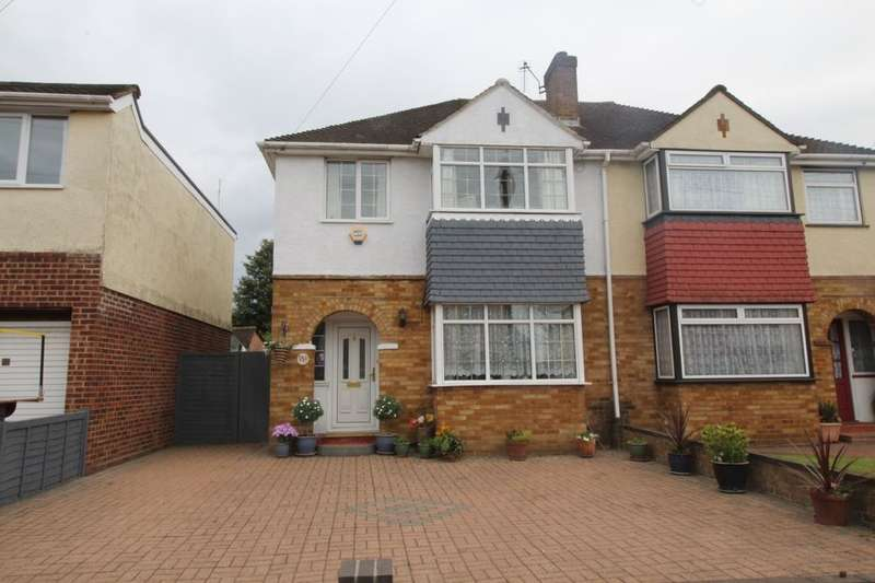 4 Bedrooms Semi Detached House for sale in St. Margarets Avenue, Ashford, TW15