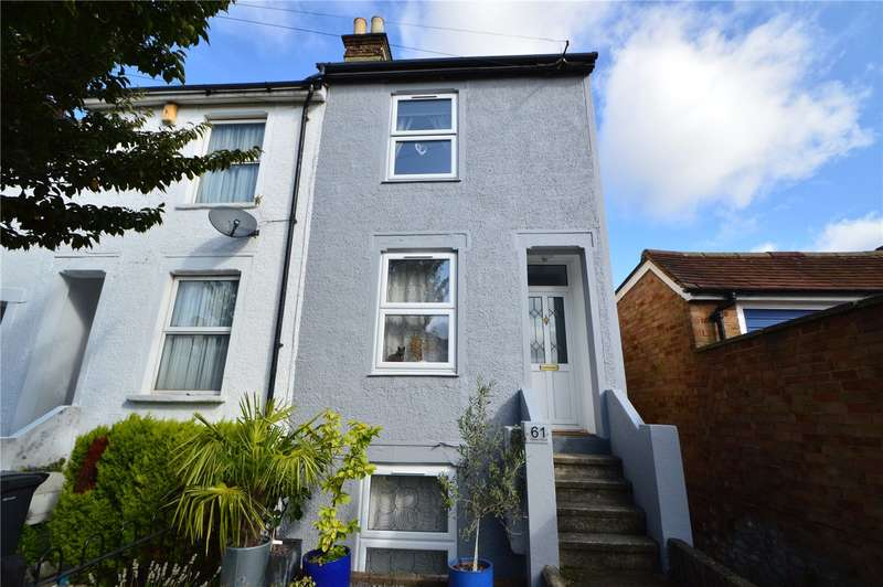 3 Bedrooms End Of Terrace House for sale in Newark Road, South Croydon