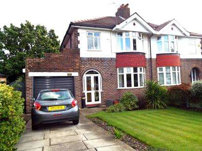 3 Bedrooms Semi Detached House for sale in London Road, Appleton, Warrington, Cheshire