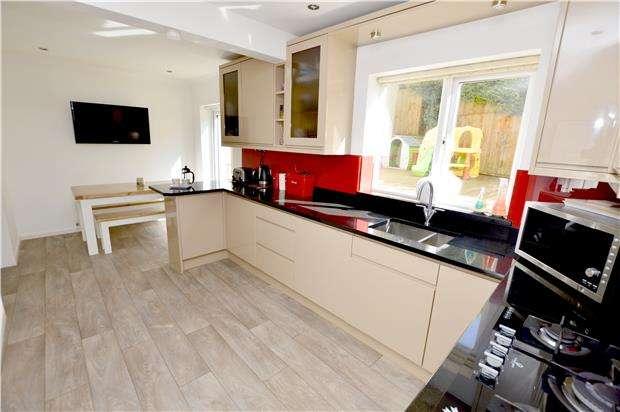 3 Bedrooms Detached House for sale in Glen Park Crescent, Kingscourt, Stroud, GL5 5DT