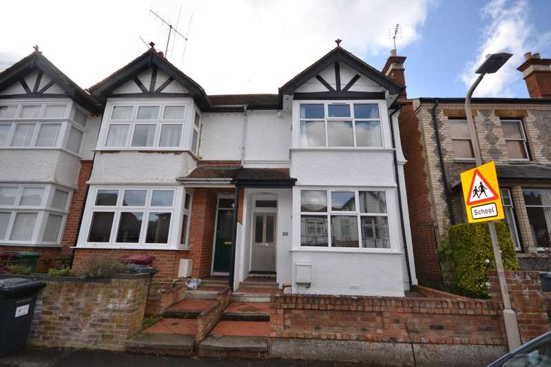 4 Bedrooms Semi Detached House for sale in Blenheim Road, Caversham Heights