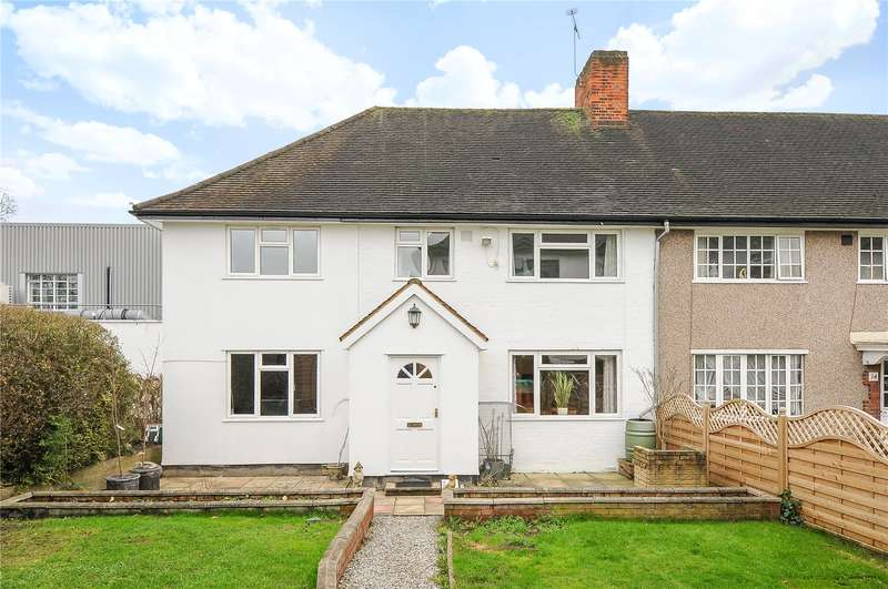 5 Bedrooms End Of Terrace House for sale in Fire Brigade Cottages, Pinner Road, Pinner, Middlesex, HA5