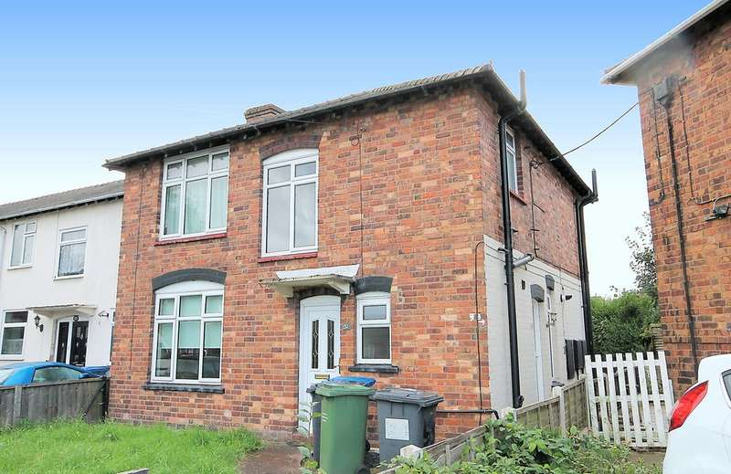 1 Bedroom Ground Maisonette Flat for sale in Bright Crescent, Kettlebrook, Tamworth, B77 1DD