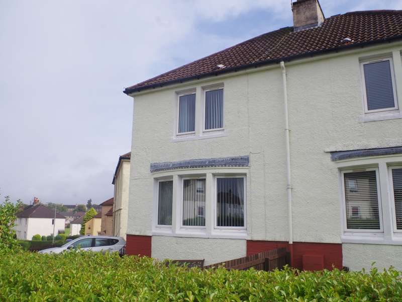 2 Bedrooms Semi Detached House for sale in 66 Crags Road, Paisley, PA2 6QT