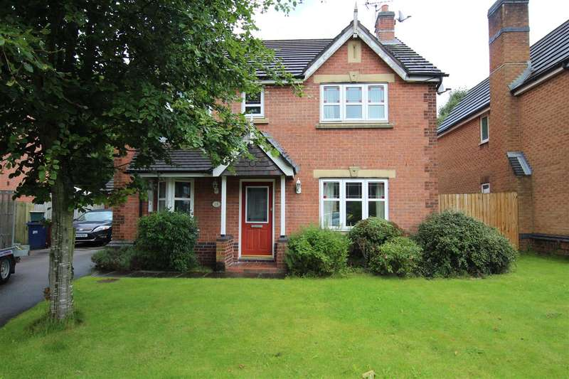 4 Bedrooms Detached House for sale in High Meadow, Walton-le-Dale, Preston