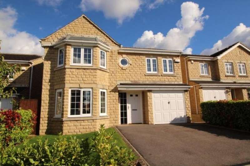 4 Bedrooms Detached House for sale in Plover Close, Glossop, SK13