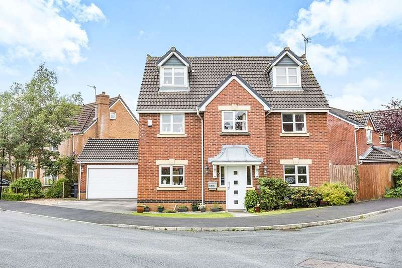 4 Bedrooms Detached House for sale in Pasture Drive, Garstang, Preston, PR3