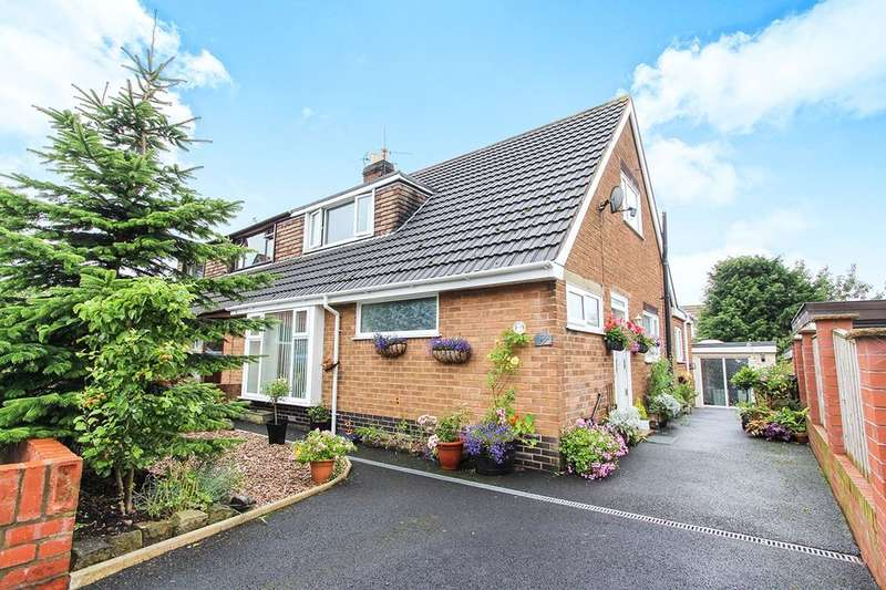 3 Bedrooms Semi Detached House for sale in Chapman Close, Great Eccleston, Preston, PR3