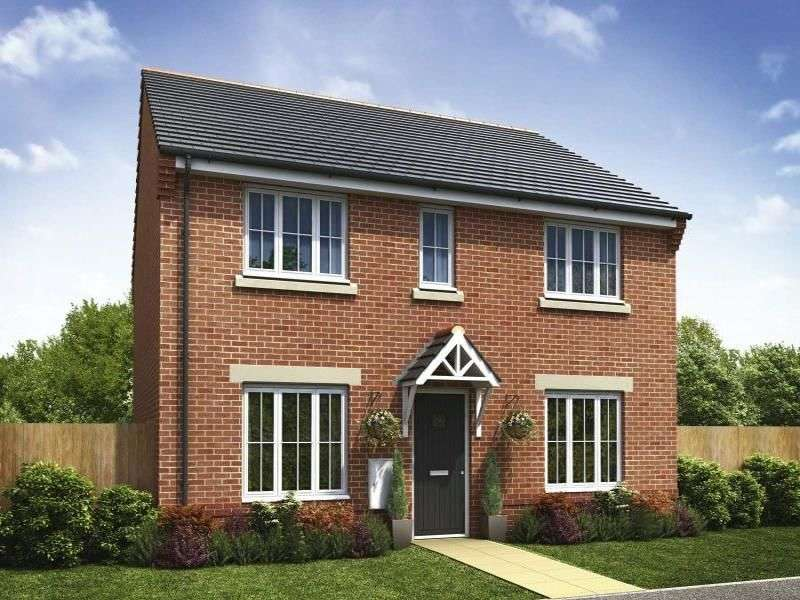 4 Bedrooms Detached House for sale in Rowan Manor Wigan Road, Leyland, PR25