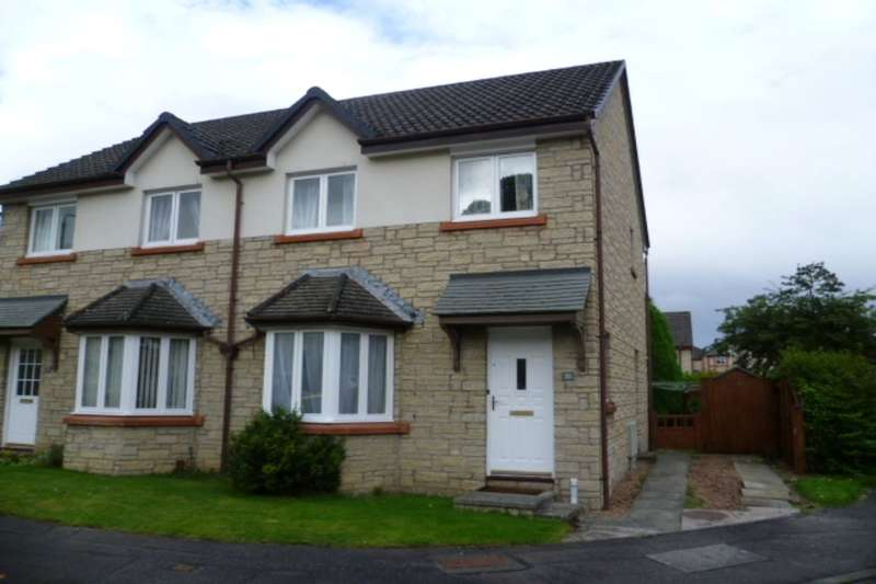 3 Bedrooms Semi Detached House for sale in Raeburn Park, Perth, PH2