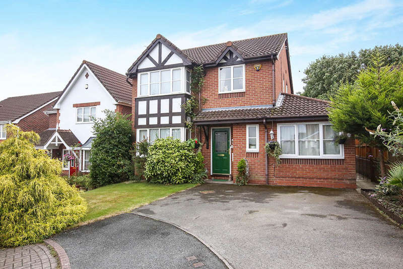 4 Bedrooms Detached House for sale in Birkdale Gardens, Winsford, CW7