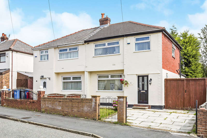 3 Bedrooms Semi Detached House for sale in Beechwood Grove, Prescot, L35