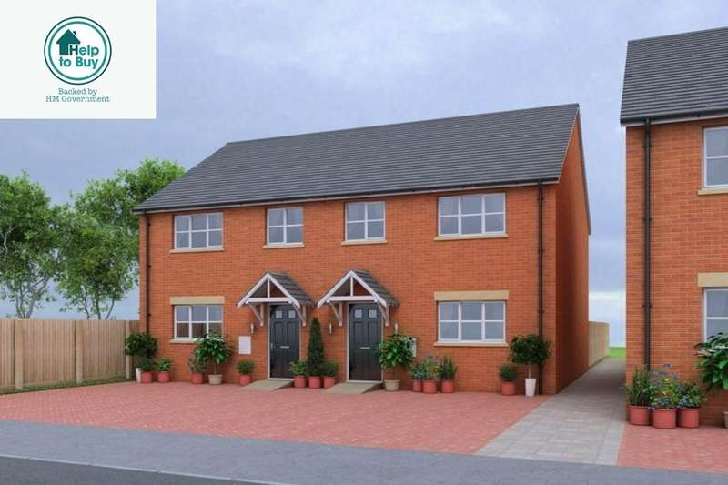 3 Bedrooms Semi Detached House for sale in Littlers View, Cranage Lane, Northwich, CW9