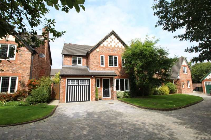 4 Bedrooms Detached House for sale in Regal Close, Northwich, CW9