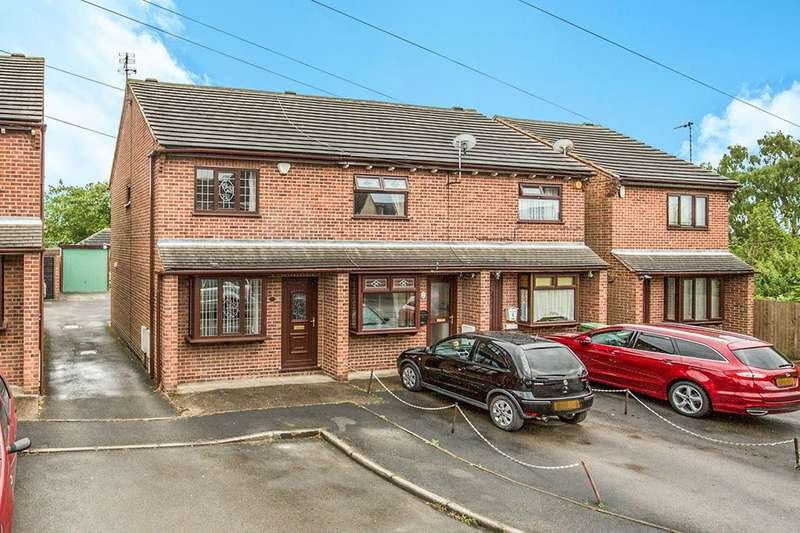 2 Bedrooms Semi Detached House for sale in Providence Street, Ripley, DE5