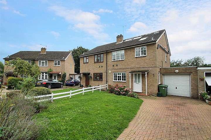 4 Bedrooms Semi Detached House for sale in Berkeley Close, Moor Lane, Staines, TW19