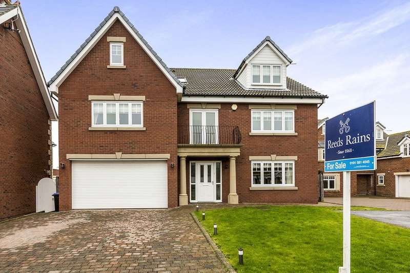 6 Bedrooms Detached House for sale in Boulmer Lea, Seaham, SR7