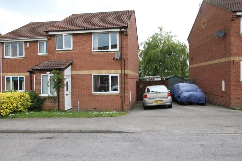 3 Bedrooms Semi Detached House for sale in Shire Croft, Eastfield, Scarborough, YO11