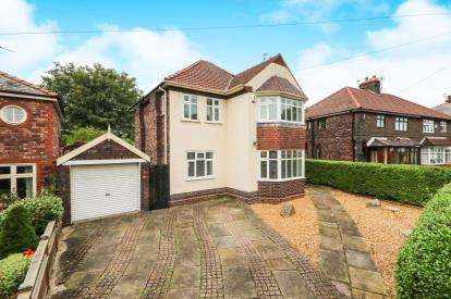 3 Bedrooms Detached House for sale in Woodland Avenue, Widnes, Cheshire, WA8
