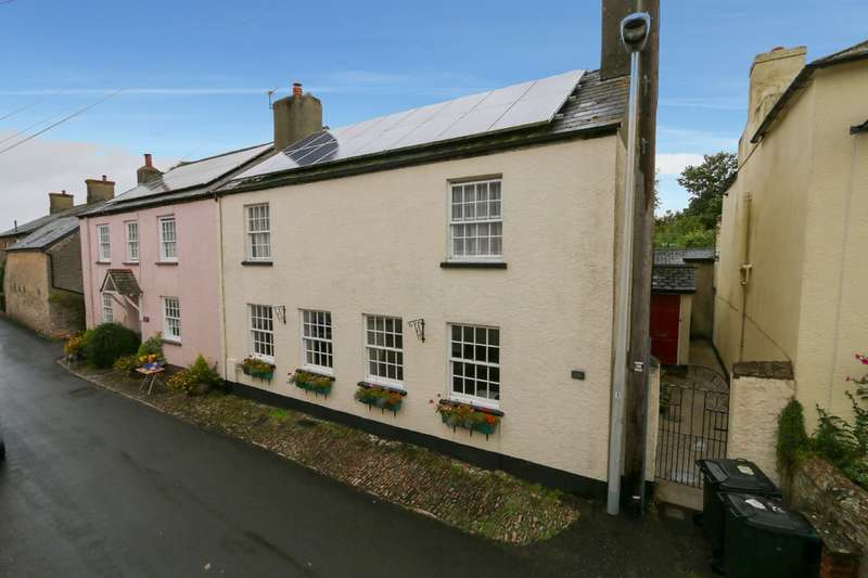 4 Bedrooms Semi Detached House for sale in North Street, Denbury