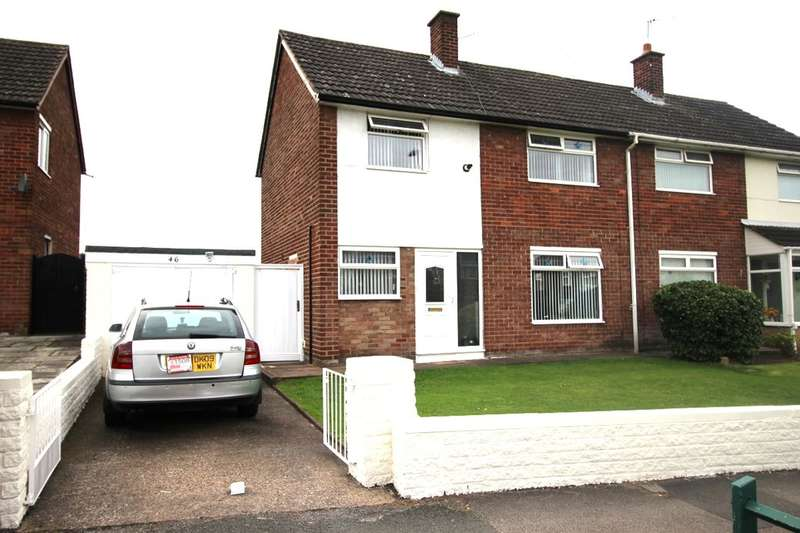3 Bedrooms Semi Detached House for sale in Baileys Lane, Halewood, Liverpool, L26