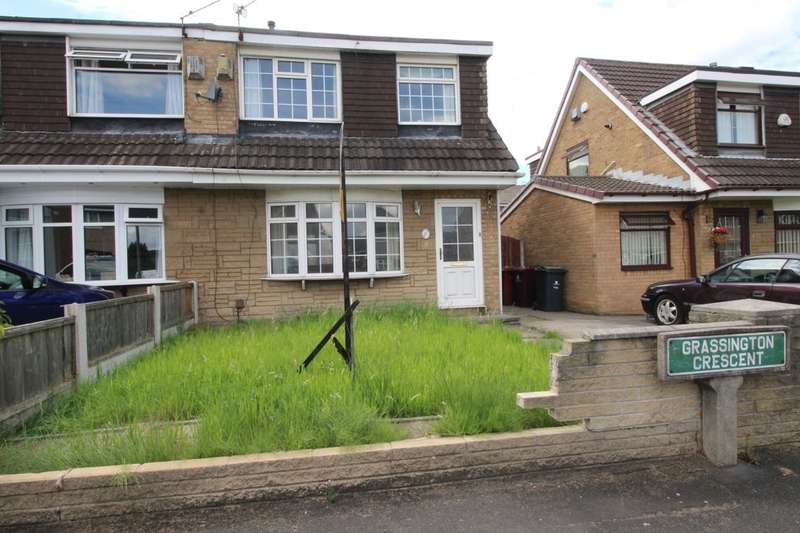 3 Bedrooms Semi Detached House for sale in Grassington Crescent, Liverpool, L25