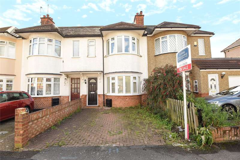 2 Bedrooms Terraced House for sale in Brixham Crescent, Ruislip, Middlesex, HA4