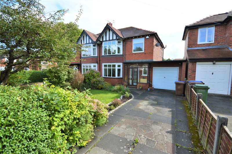 3 Bedrooms Semi Detached House for sale in Woodland Avenue, Hazel Grove