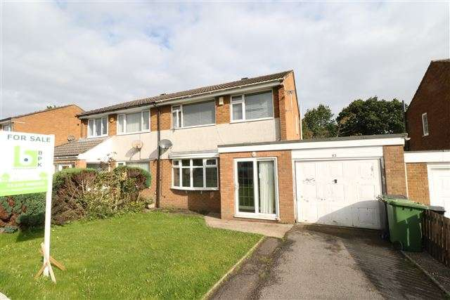 3 Bedrooms Semi Detached House for sale in Castlesteads Drive, Carlisle, Cumbria, CA2 7XD