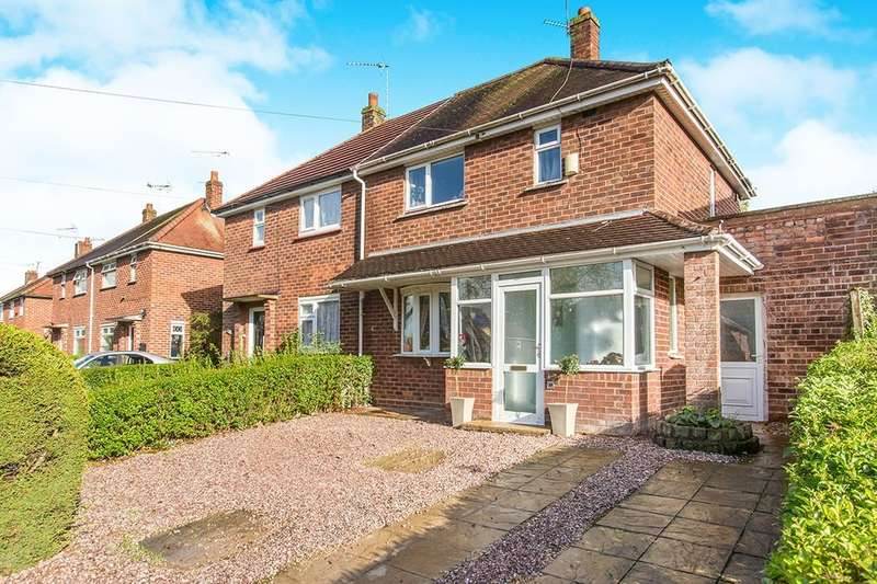 2 Bedrooms Semi Detached House for sale in Capesthorne Road, Crewe, CW2