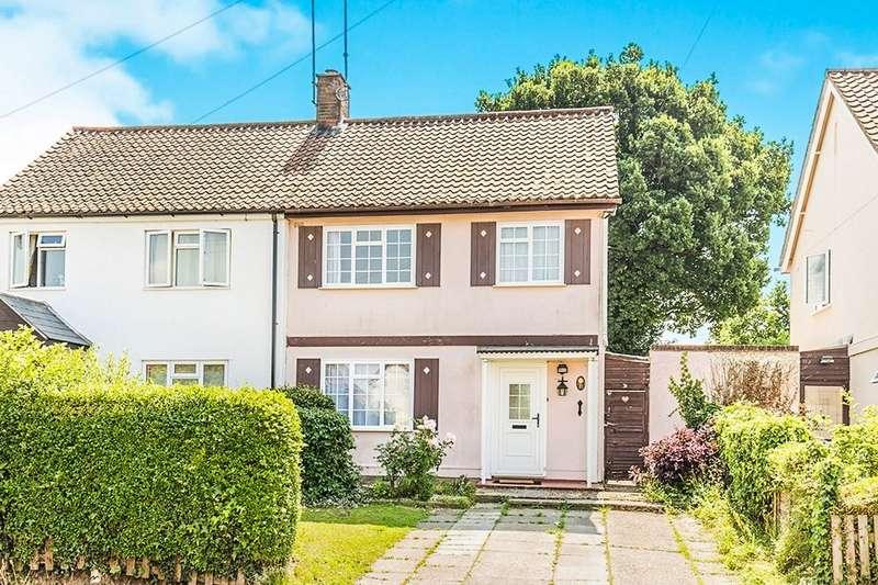 3 Bedrooms Semi Detached House for sale in Rushington Lane, Totton, Southampton, SO40