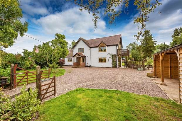 4 Bedrooms Detached House for sale in Walcot, Telford, Shropshire